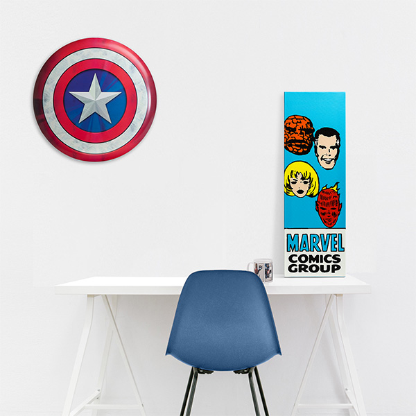 marvel heroes-minimal decoration