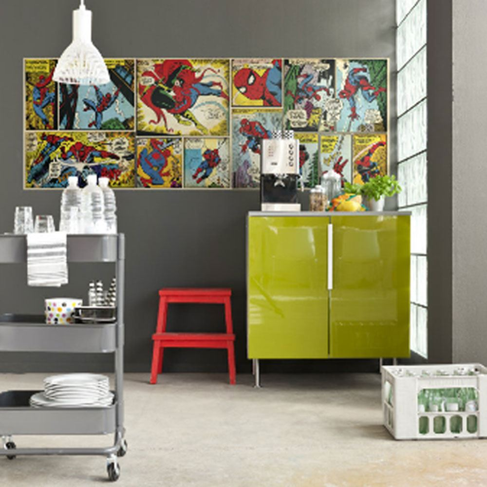 marvel heroes-wall decor