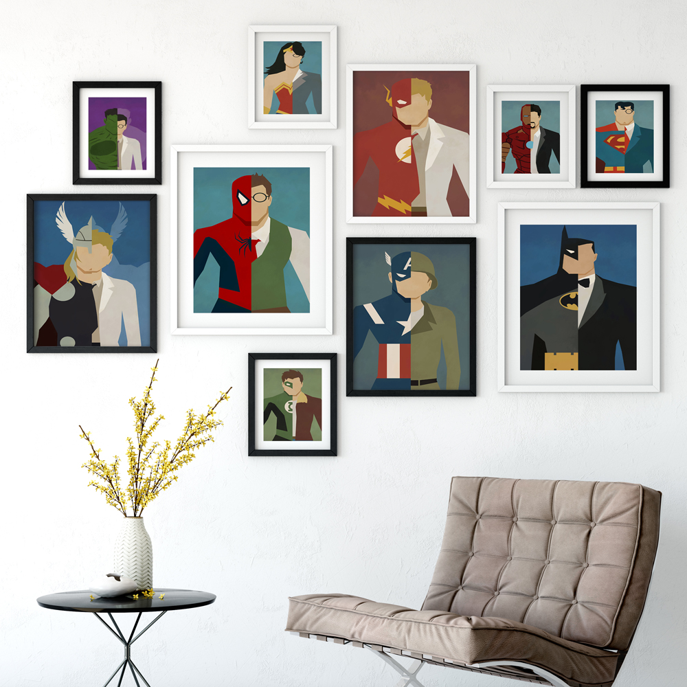 marvel heroes-decoration pictures
