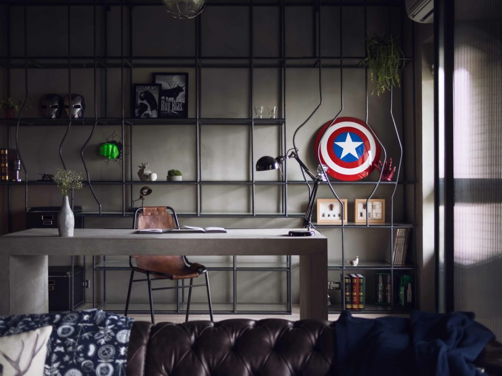 marvel heroes-room decoration