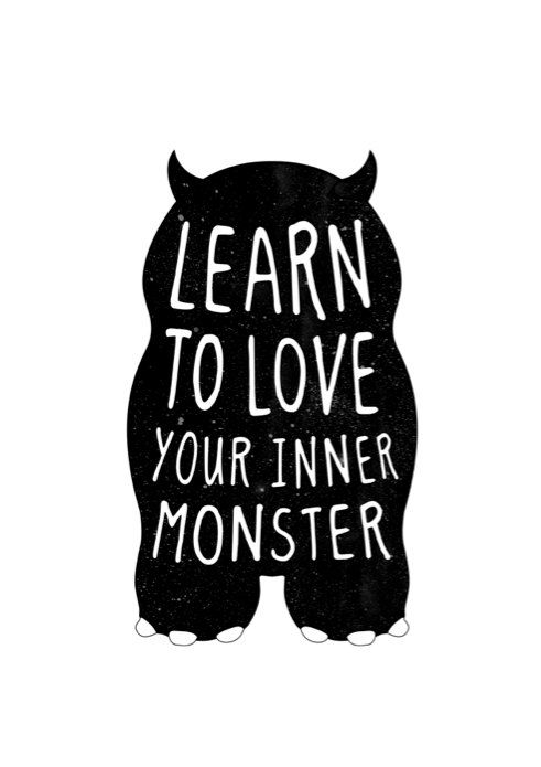 5 Resoluções de ano novo - ame seus monstros