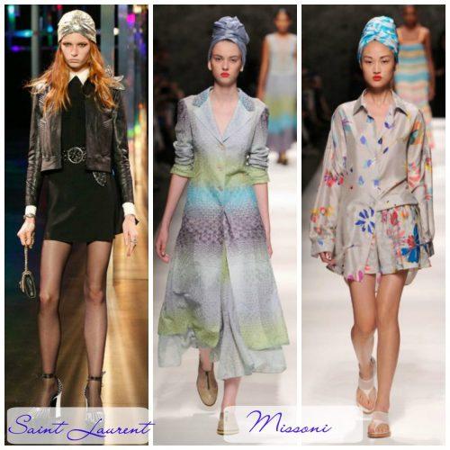 Como usar turbantes na primavera e verão 2015