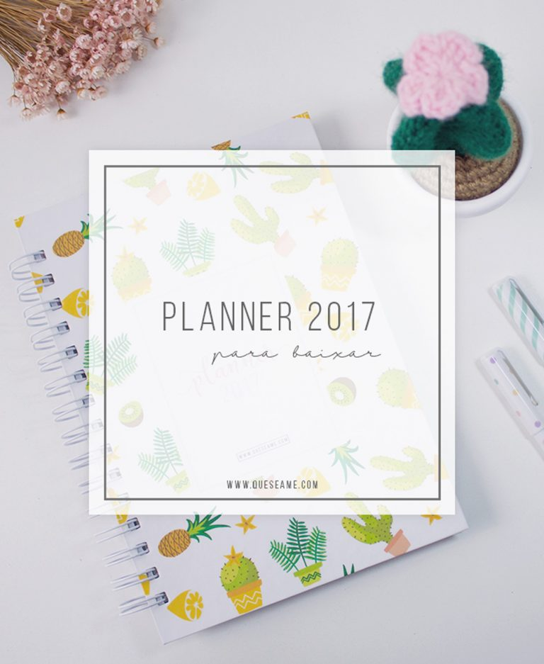 Planner 2017 - Que se Ame
