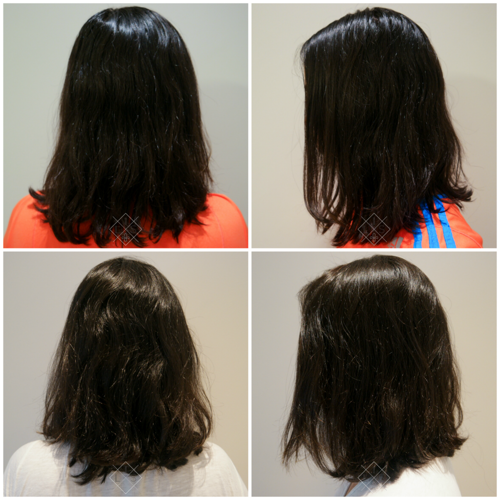 Volume no cabelo - Loreal Volumetry antes e depois