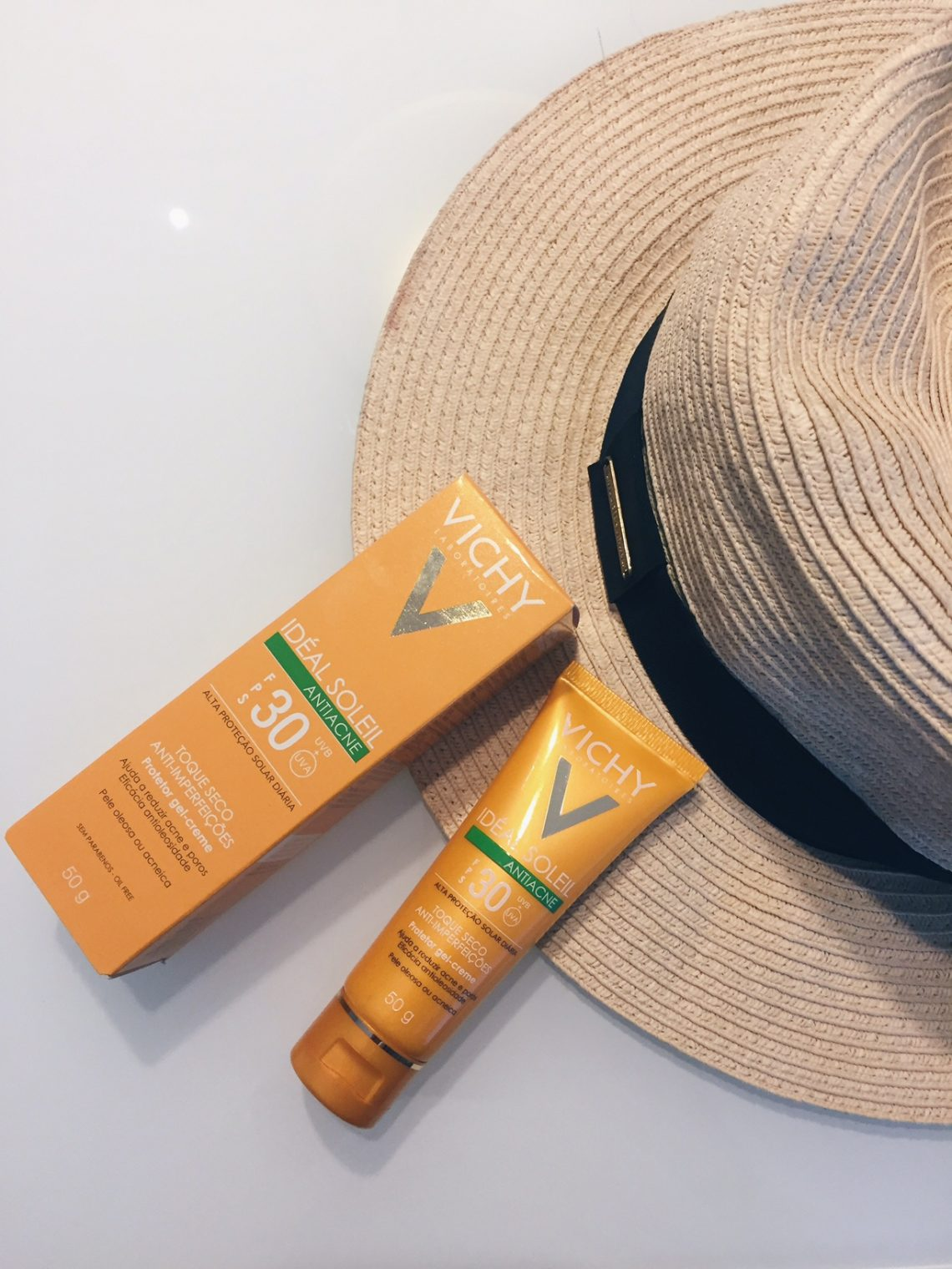 Protetor solar antiacne Vichy Idéal Soleil Antiacne