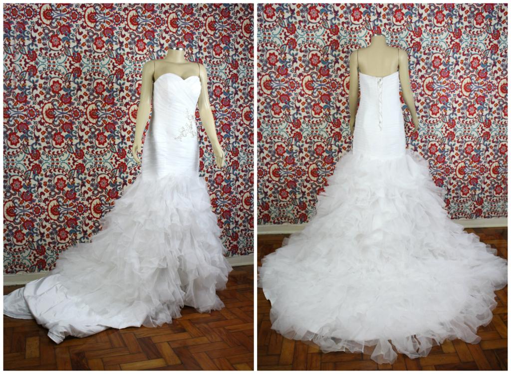 ganhar vestido de noiva sereia