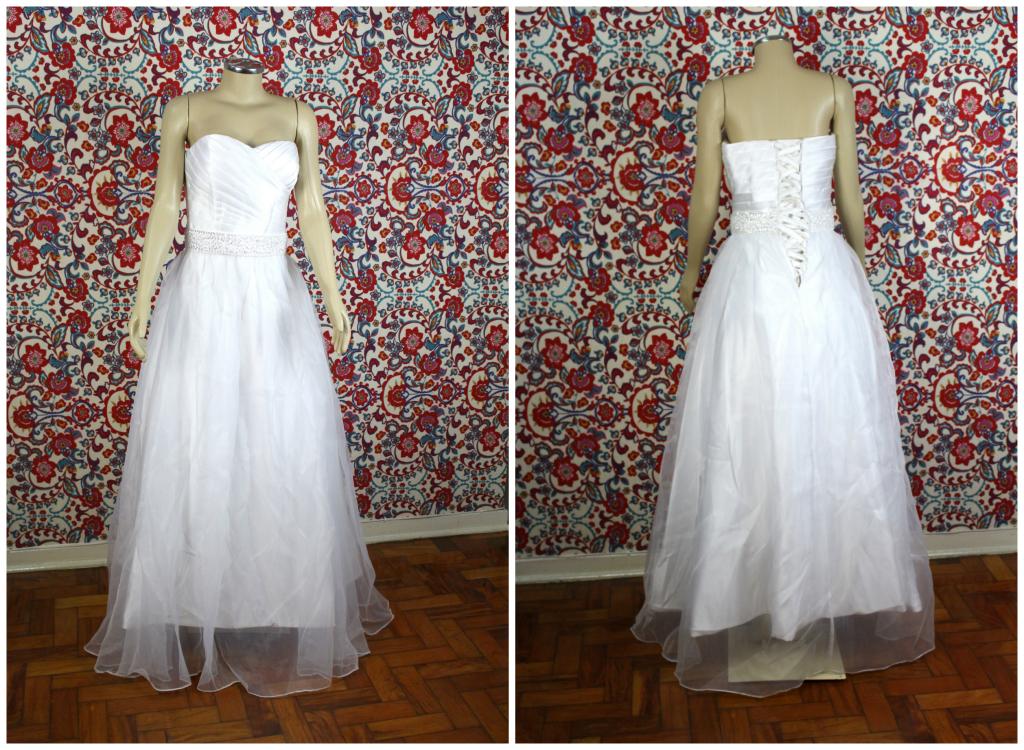 Ganhar Vestido de noiva princesa