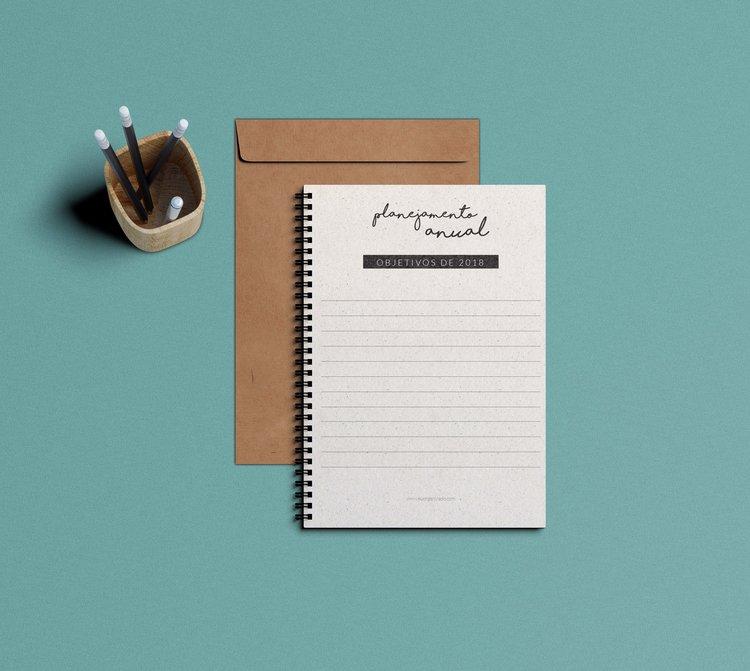 Planner 2018 para baixar Lis.Life - Organização