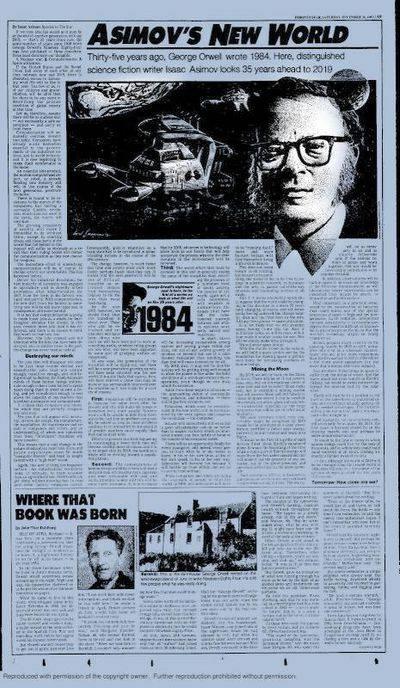 Sobre 2019, por Isaac Asimov