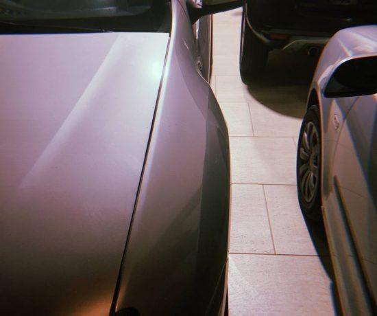 carros estacionados na garagem, o dia que iniciou essa ideia de começar a organizar a vida