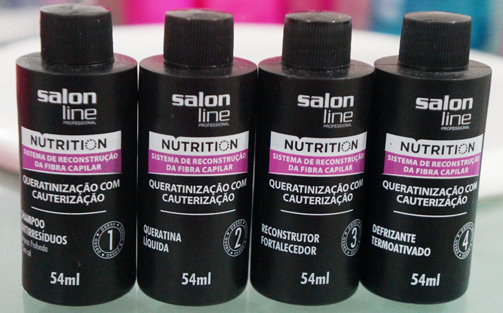 Como fazer cauterização no cabelo em casa - kit salon line